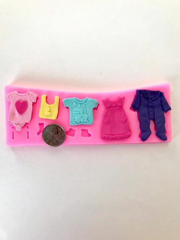 Baby clothes mold