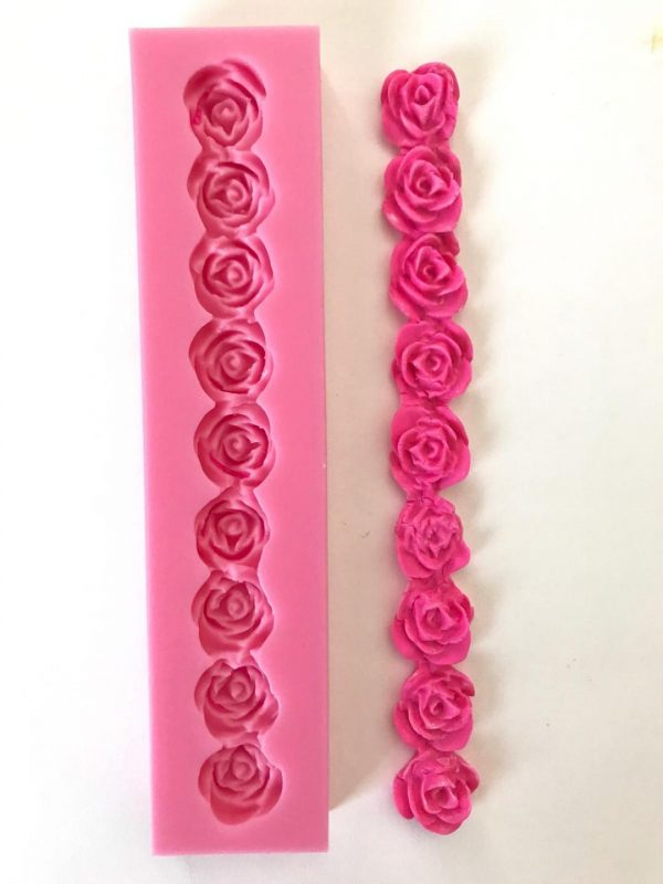 Rose Border Mold
